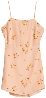 Lumiere Floral Back Cutout Mini Dress