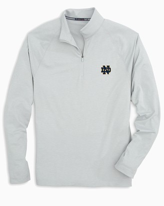 Southern Tide Notre Dame Fighting Irish Lightweight Quarter Zip Pullover