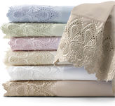 JCPenney 600tc Easy Care Set of 2 Lace Pillowcases