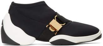 Giuseppe Zanotti Black Light Jump Buckle Sneakers