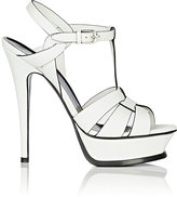 Saint Laurent Women's Tribute Leather Platform Sandals