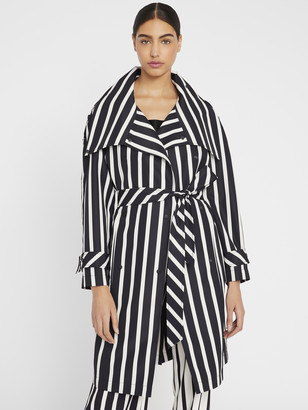 Alice + Olivia Brenton Belted Trench Coat