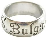 Bulgari Bvlgari Sterling Silver Ring Size 6