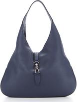 Gucci Caspian Blue Soft Leather Jackie Hobo