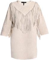 Navajo suede fringe dress