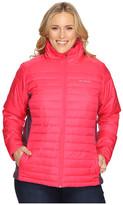 Columbia Plus Size Powder Pillow Hybrid Jacket