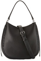 Rebecca Minkoff Convertible Pebbled Hobo Bag, Black