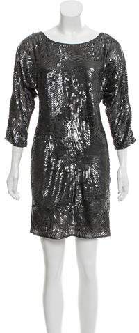 Trina Turk Sequin Embellished Mini Dress w/ Tags