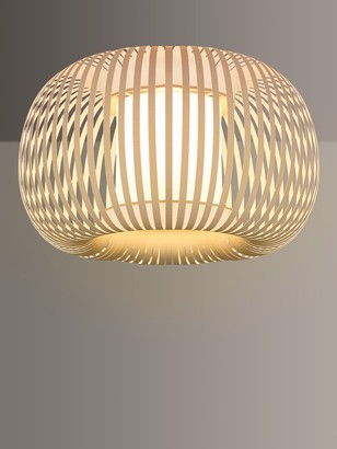 John Lewis & Partners Harmony Ribbon Semi Flush Ceiling Light