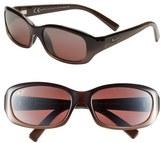 Maui Jim Women's 'Punchbowl' 54Mm Sunglasses - Chocolate Fade