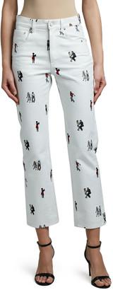 Kirin Dancers Boy-Fit Straight Jeans