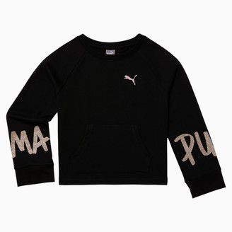 Puma Tag Girls' Crewneck Sweatshirt JR