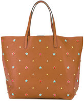 RED Valentino star studded tote - women - Leather - One Size