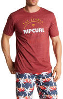 Rip Curl Smasher Mock Twist Tailored Fit Graphic Tee