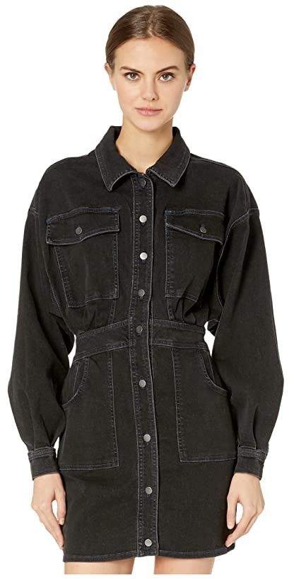 Free People Bo Dress (Black) Women's Clothing
