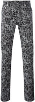 Christian Dior lines print trousers