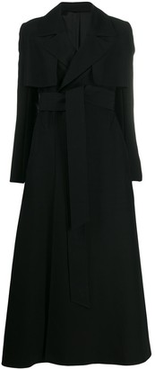 AMI Paris Belted Oversized Coat