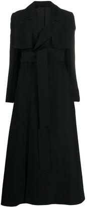 Ami Belted Oversized Coat