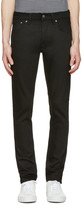 Nudie Jeans Black Tilted Tor Jeans