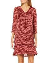 Queen Mum Women's Dress 3/4 Sl Knee