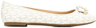 MICHAEL Michael Kors Monogram Ballerina Shoes