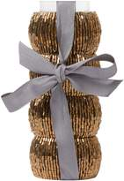 Linea Gold Halo Napkin Ring Set 4