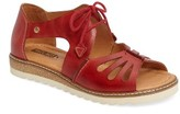 PIKOLINOS Women's Alcudia Lace-Up Sandal