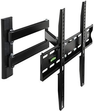 Kurt Geiger MOOL Slim TV Wall Bracket for 23-42-Inch LCD/LED and Plasma TV with Super Strength Load Capacity upto 40 kg, Black