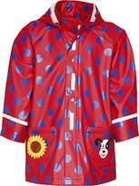 Playshoes Girls Waterproof Dots Raincoat,6-12 Months (Manufacturer Size:9-12 Months (80cm))