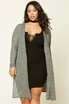 Forever 21 FOREVER 21+ Plus Size Open Knit Cardigan