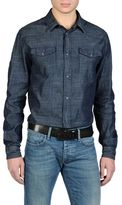 Armani Jeans Denim Shirt With Chest Pockets