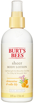 Burt's Bees Clementine + Calla Lily - Sheer Body Lotion by 8oz Lotion)