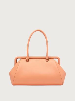 Salvatore Ferragamo Women Shoulder bag small Orange