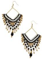 Panacea Women's Beaded Fringe Earrings