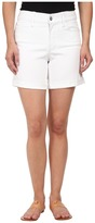 NYDJ Petite Petite Avery Short in Optic White