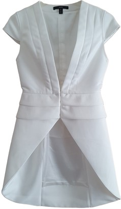 Aq/Aq Aqaq White Jacket for Women