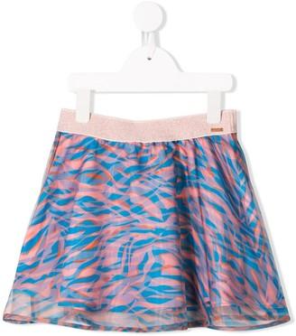 Kenzo Kids Printed Gathered Skirt