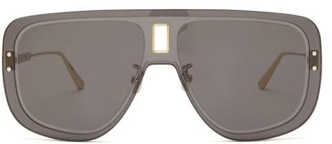 Christian Dior Ultradior Aviator Acetate Sunglasses - Grey