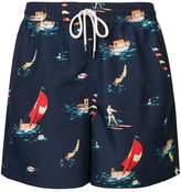 Polo Ralph Lauren graphic print swimming shorts