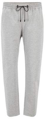 BOSS Relaxed-fit jogging trousers in stretch jersey