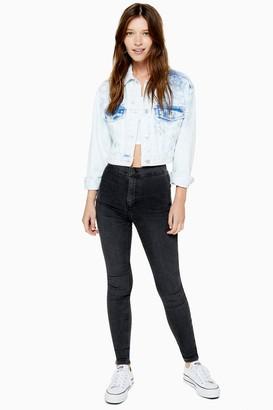 Topshop TALL Washed Black Joni Jeans