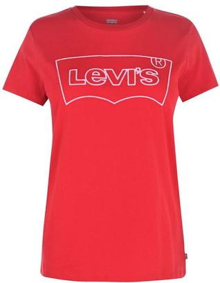 Levi's Levis Levis Outline T Shirt