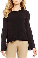 Antonio Melani Elvira Bell Sleeve Cashmere Sweater