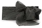 Elisabetta Franchi Women's White/black Leather Belt.