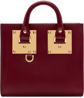 Sophie Hulme Red Albion Box Tote