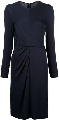Elie Tahari long-sleeve fitted dress