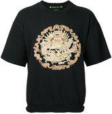 SASQUATCHfabrix. embroidered dragon sweater - men - Cotton/Polyester - M