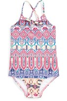Seafolly Toddler Girl's 'Mermaidia' One-Piece Swimsuit