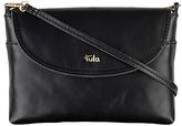 Tula Smooth Originals Leather Across Body Bag, Black