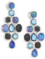 Ippolita Rock Candyé Eclipse Multi-Stone & Sterling Silver Cascade Earrings